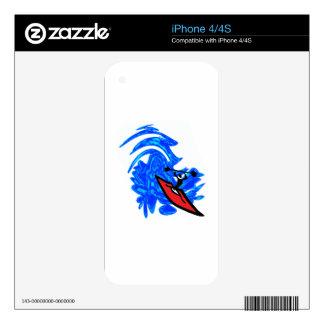MAKE A SPLASH iPhone 4S SKIN