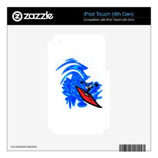 MAKE A SPLASH iPod TOUCH 4G DECALS