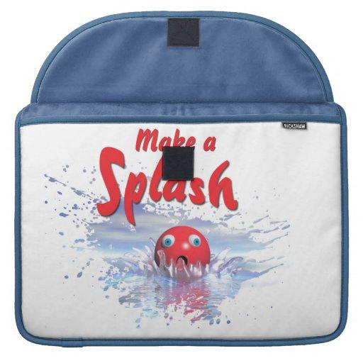 Make a Splash Macbook Pro sleeve