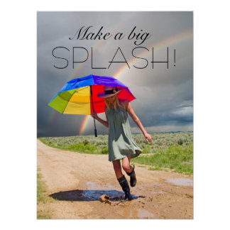 Make a Splash - SRF Poster