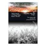 "Make a Splash Summer Pool Party Invitation 3.5"" X 5"" Invitation Card"