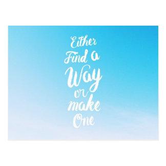 Make a Way Postcard