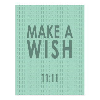 Make A Wish 11 11 Post Cards