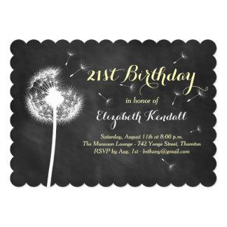 Make a Wish! 21st Birthday Invitation