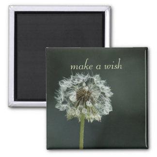 make a wish 2 inch square magnet
