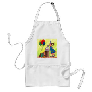 Make a Wish! Adult Apron