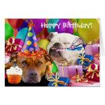Make a wish & blow! Happy Birthday Greeting Card