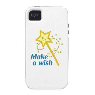 MAKE A WISH Case-Mate iPhone 4 CASE