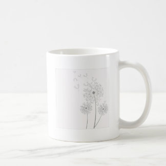 Make A Wish Dandelion Coffee Mug
