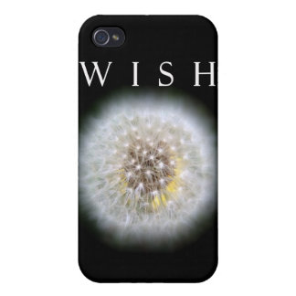 Make A Wish Dandelion Photography iPhone 4/4S Covers