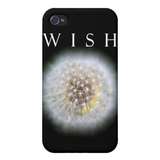 Make A Wish Dandelion Photography iPhone 4 Cases