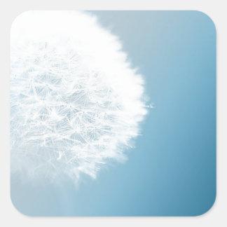 Make A Wish Dandelion Square Sticker