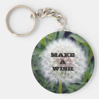 Make A Wish Key Chain