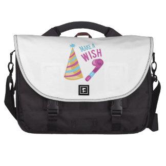 Make A Wish Laptop Bag