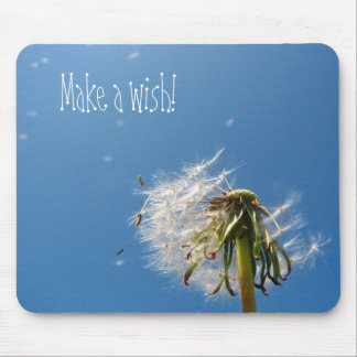 Make a wish! mousepad