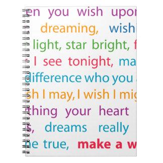 Make a Wish Notebook