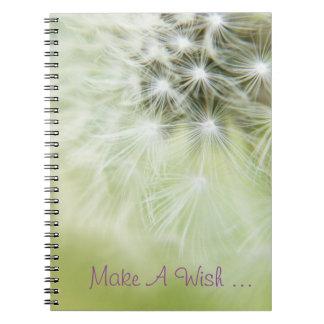 Make A Wish ... Notebook! Spiral Notebook