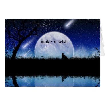 siberianmom Make a Wish on a Star Birthday Card