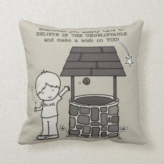 Make a Wish on You! Throw Pillow