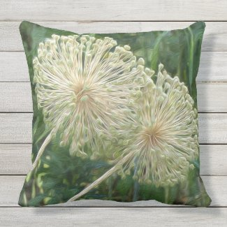 Make a Wish Outdoor Pillow