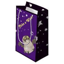 Make a Wish! Owl Small Gift Bag