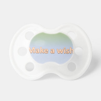 make a wish pacifier