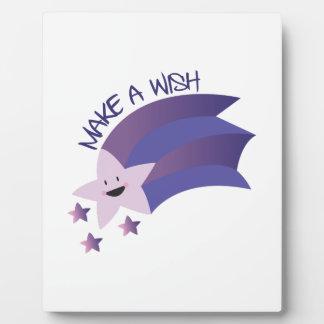 Make A Wish Display Plaques