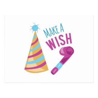 Make A Wish Post Cards