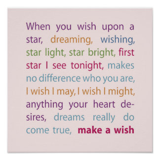 Make a Wish Posters