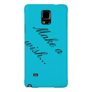 Make a wish- Samsung Galaxy Note 4 case