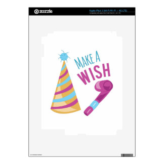 Make A Wish Decals For iPad 3