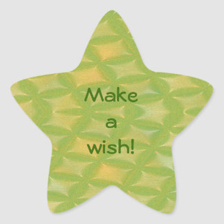 Make a Wish! Star Stickers