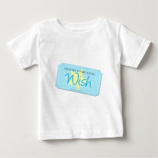 Make a Wish Ticket Baby T-Shirt