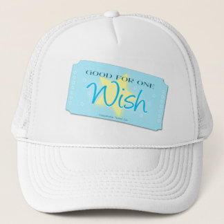 Make a Wish Ticket Trucker Hat