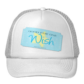 Make a Wish Ticket Trucker Hats