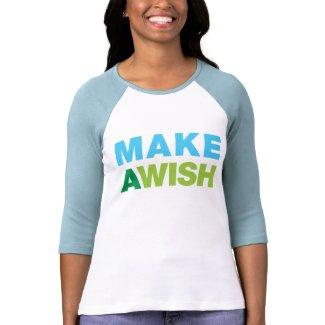 Make a Wish zazzle_shirt