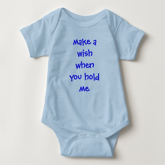 make a wishwhenyou hold me baby bodysuit