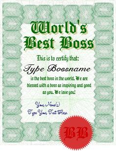 best boss gifts on zazzle