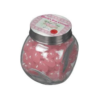 Make a World's Best Colleague Certificate Glass Candy Jars