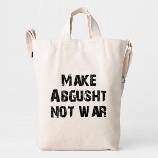 Make Abgusht Not War Duck Bag