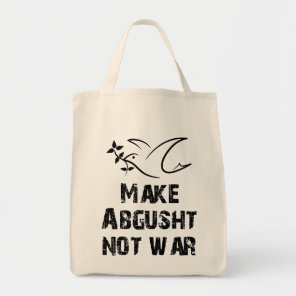 Make Abgusht Not War Tote Bag