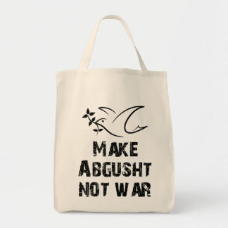 Make Abgusht Not War Tote Bag