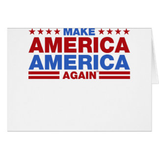 Make America America Again Card