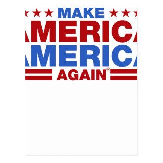Make America America Again Postcard