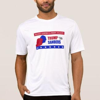 Make America Bern Trump Sanders Election T-Shirt