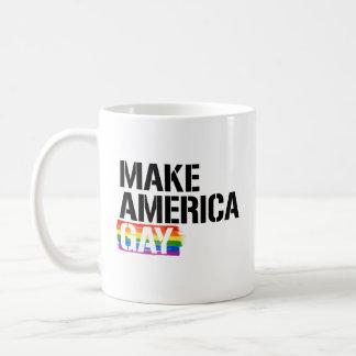 Make America Gay - - LGBTQ Rights -  Coffee Mug