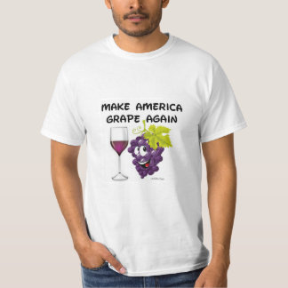 MAKE AMERICA GRAPE AGAIN T-SHIRT