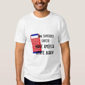 Make America Grate Again cheese Trump funny humor T-shirt