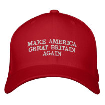 Make America Great Britain Again Donald Trump Hat