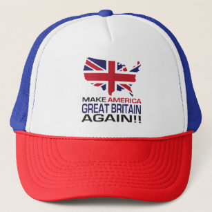 8186340d80d Make America Great Britain Again! Trucker Hat